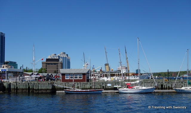 One of many Halifax highlights -- Boats and buildings along The Halifax Harbourfront, Nova Scotia