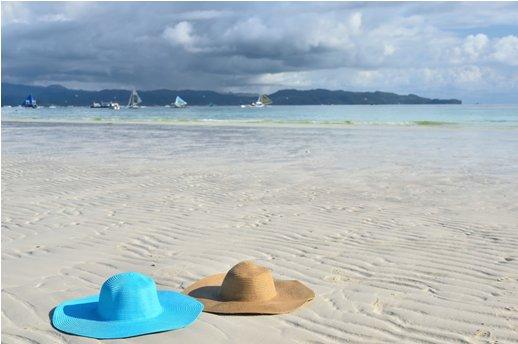 hats-beach