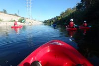 Kayaking the Los Angeles River in the middle of an Urban Jungle!