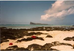 mauritius empty beach