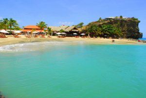 Beach at Sandals LaSource in Grenada