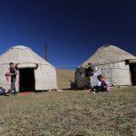 Yurts, Song-Kul, Kyrgyzstan
