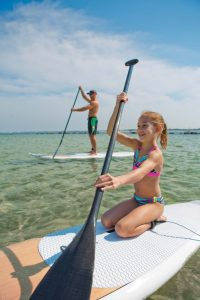 Stand-up Paddleboarding is fun for the entire family