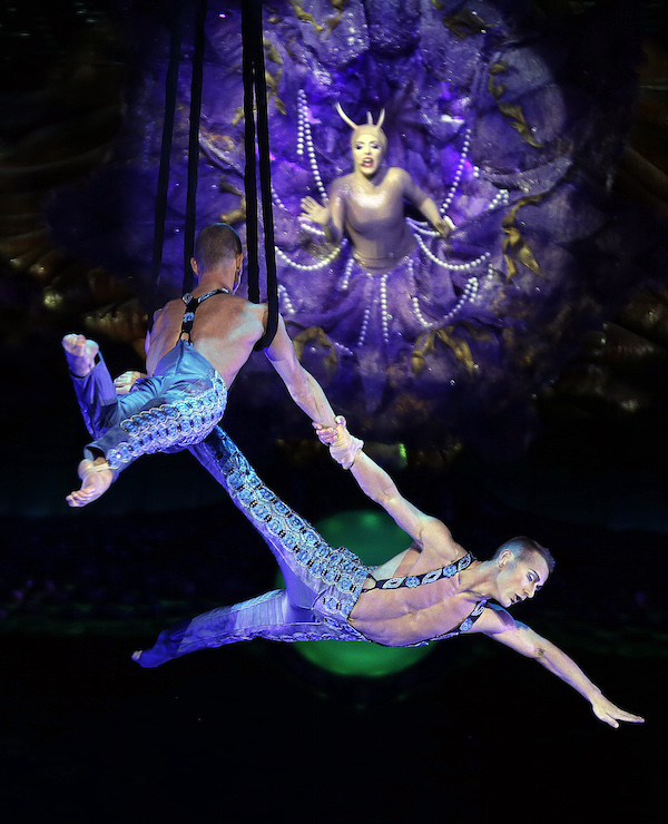 Photo by Isaac Broken; ©Cirque du Soleil
