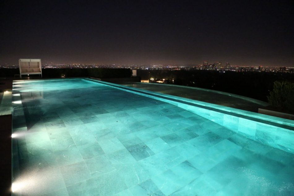 Classic LA view from the Holmby Hills