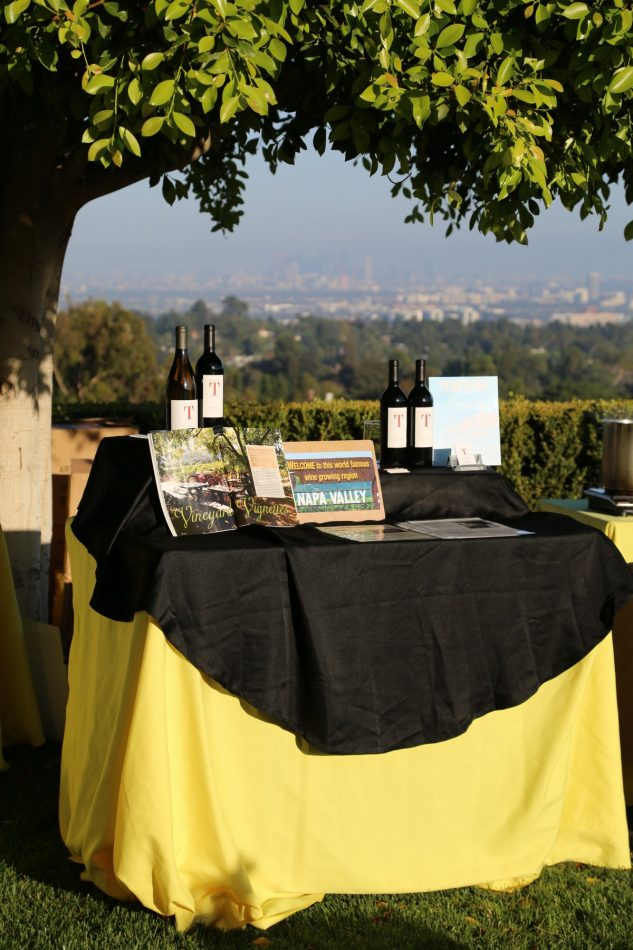 Tedeschi Family Winery table
