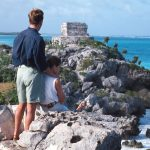 Mexico-Tulum-OverlookingSea