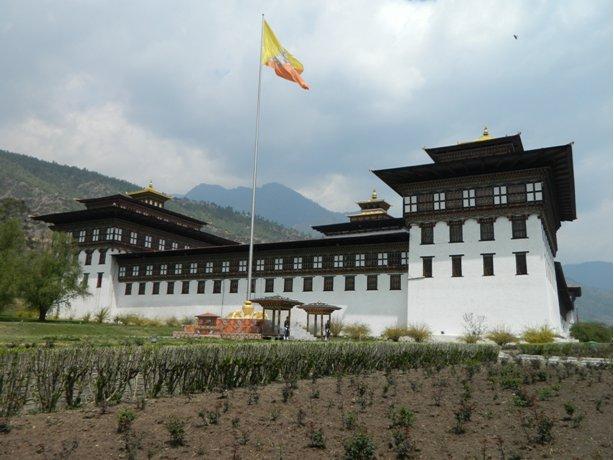 Trashichoe Dzong, Thimphu.