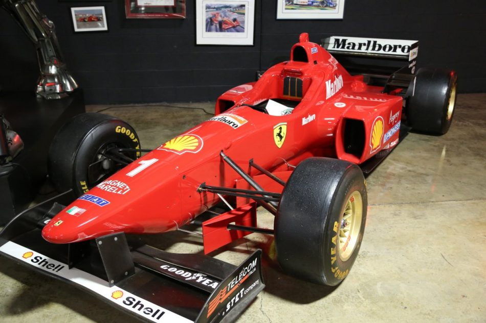 F-1 Ferrari driven by Michael Schumacher