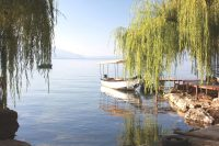 Lake Ohrid, Macedonia – December 2014
