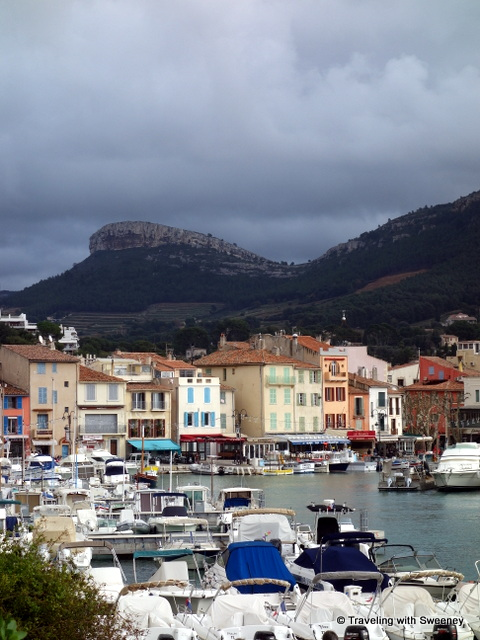 Couronne de Charlemagne overlooking the village of Cassis, France