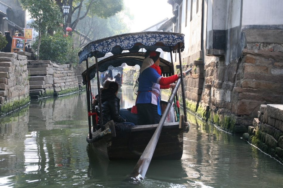 Water boat in Luzhi