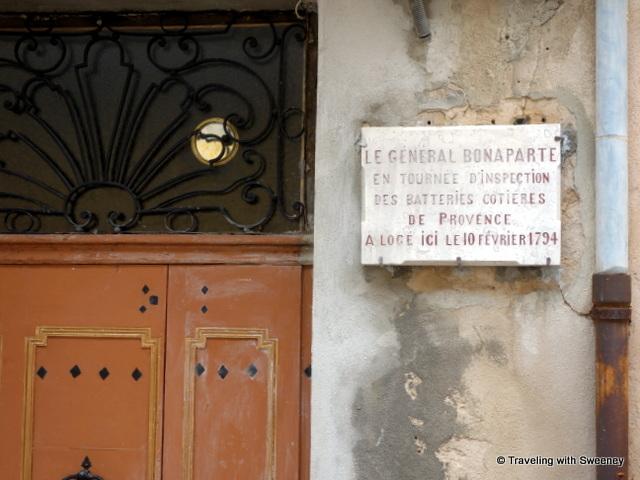 Rue du Général Bonaparte -- Napolean slept here!