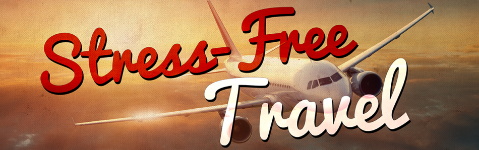 stress free travel banner