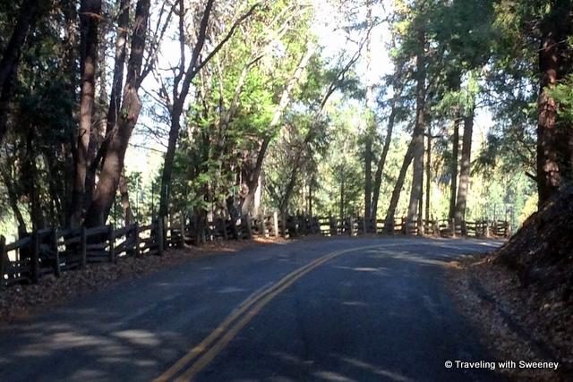 """""""Country road in El Dorado County, California"""