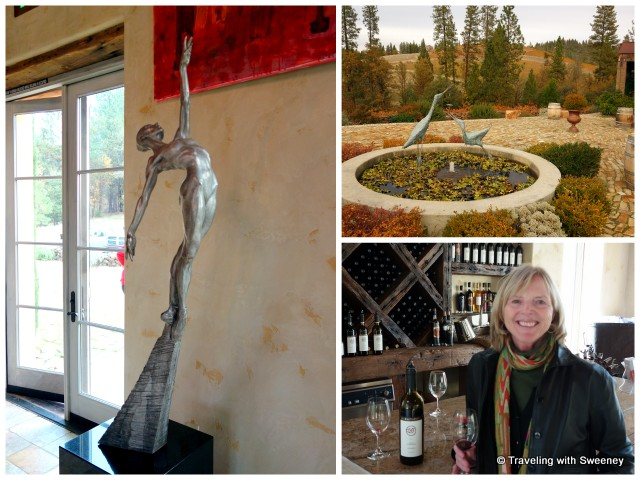 Art and wine at Miraflores Winery