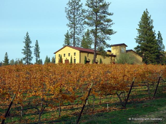 Miraflores Winery tasting room, El Dorado County