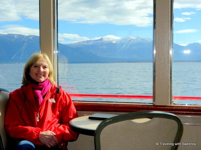 Aboard the Dixie II on Lake Tahoe
