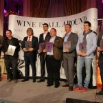 The excited winners of the annual VinCE wine awards