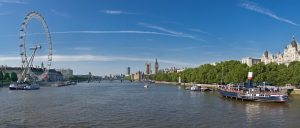 London river view