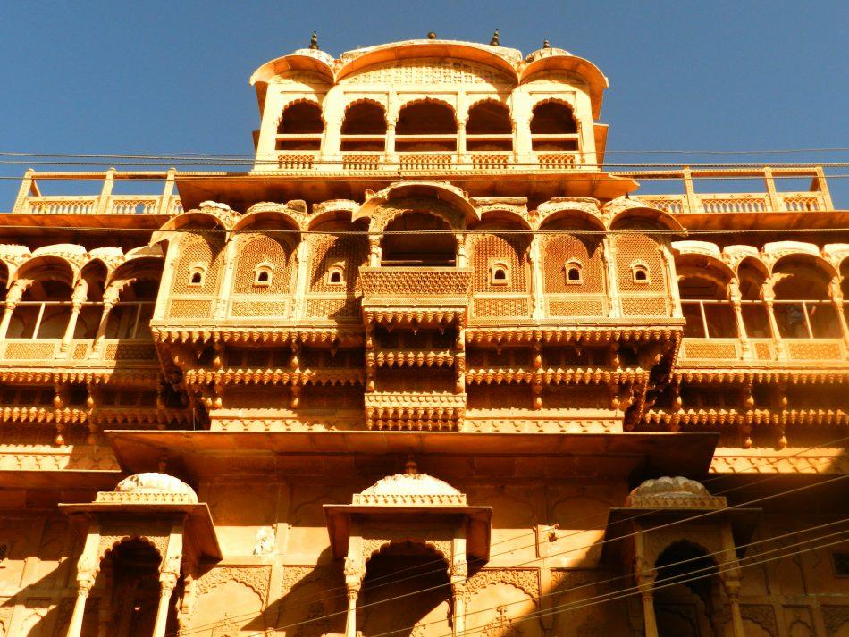 nathmal ki haveli, jaisalmer fort, rajasthani architecture