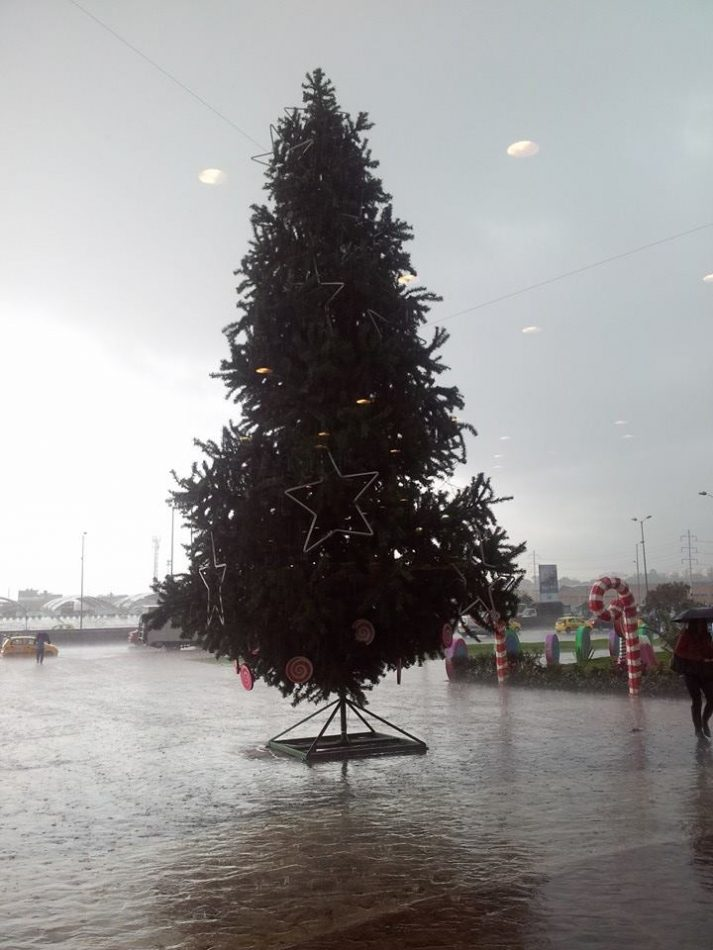 Dreaming of a... Wet Christmas?