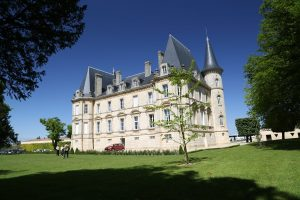 The fairly tale looking Château Pichon Longueville