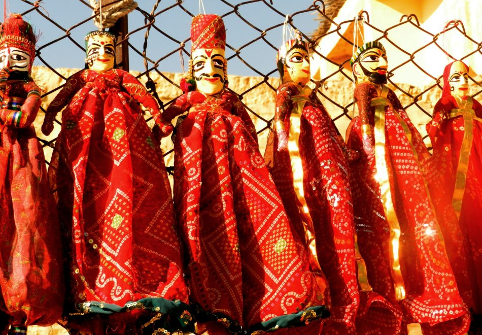 puppets, string puppets, rajasthani puppets, jaisalmer