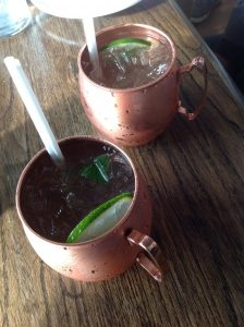 Ontario - Peterborough and the Kawarthas - Lantern Restaurant & Grill - Stoney Mule drink 1