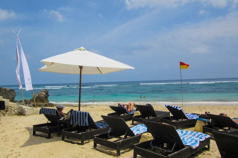 Beach access at Karma Kandara