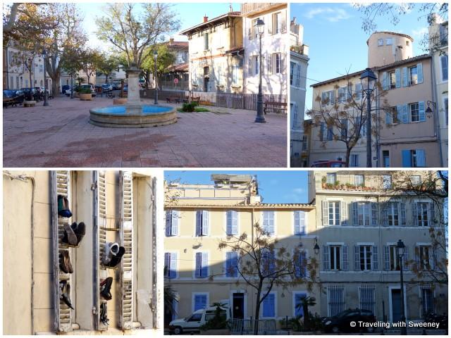 Place des Moulins, Le Panier