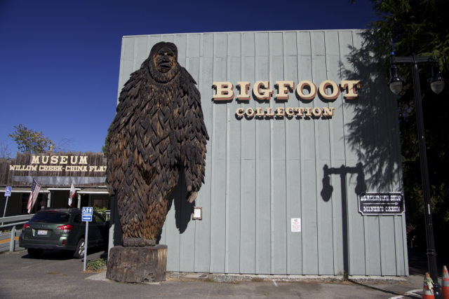 Willow Creek, CA: The Bigfoot Capital of the World