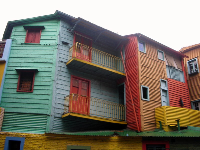 The colorful Caminito is the heart of La Boca
