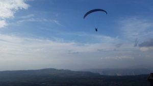 adventure sports paragliding