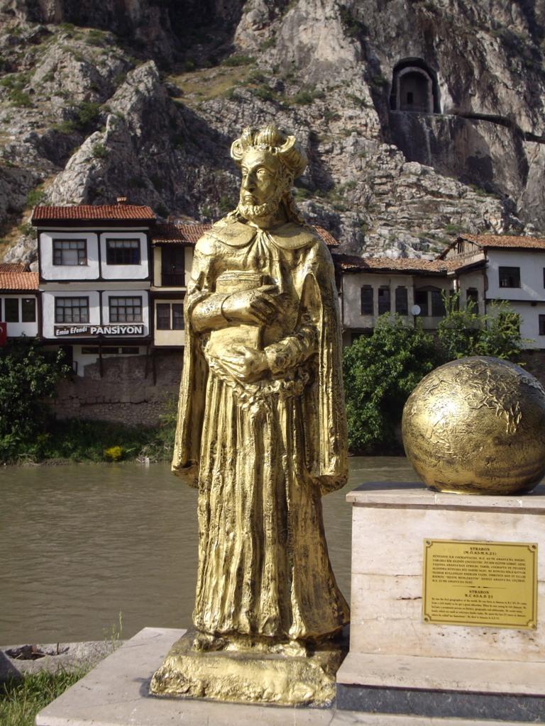 The historian Strabo
