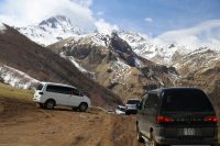 A Visit to Kazbegi, Georgia + Badly Designed Road Tunnels