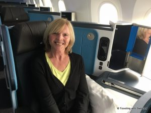Cathy on Dreamliner 1