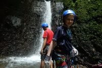 What it's like rappelling a Waterfall in Costa Rica