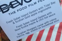 Celebrating the Best of Food & Film in Nova Scotia