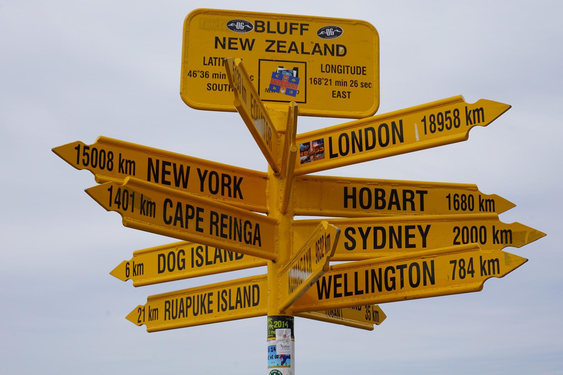 Landmark, New Zealand