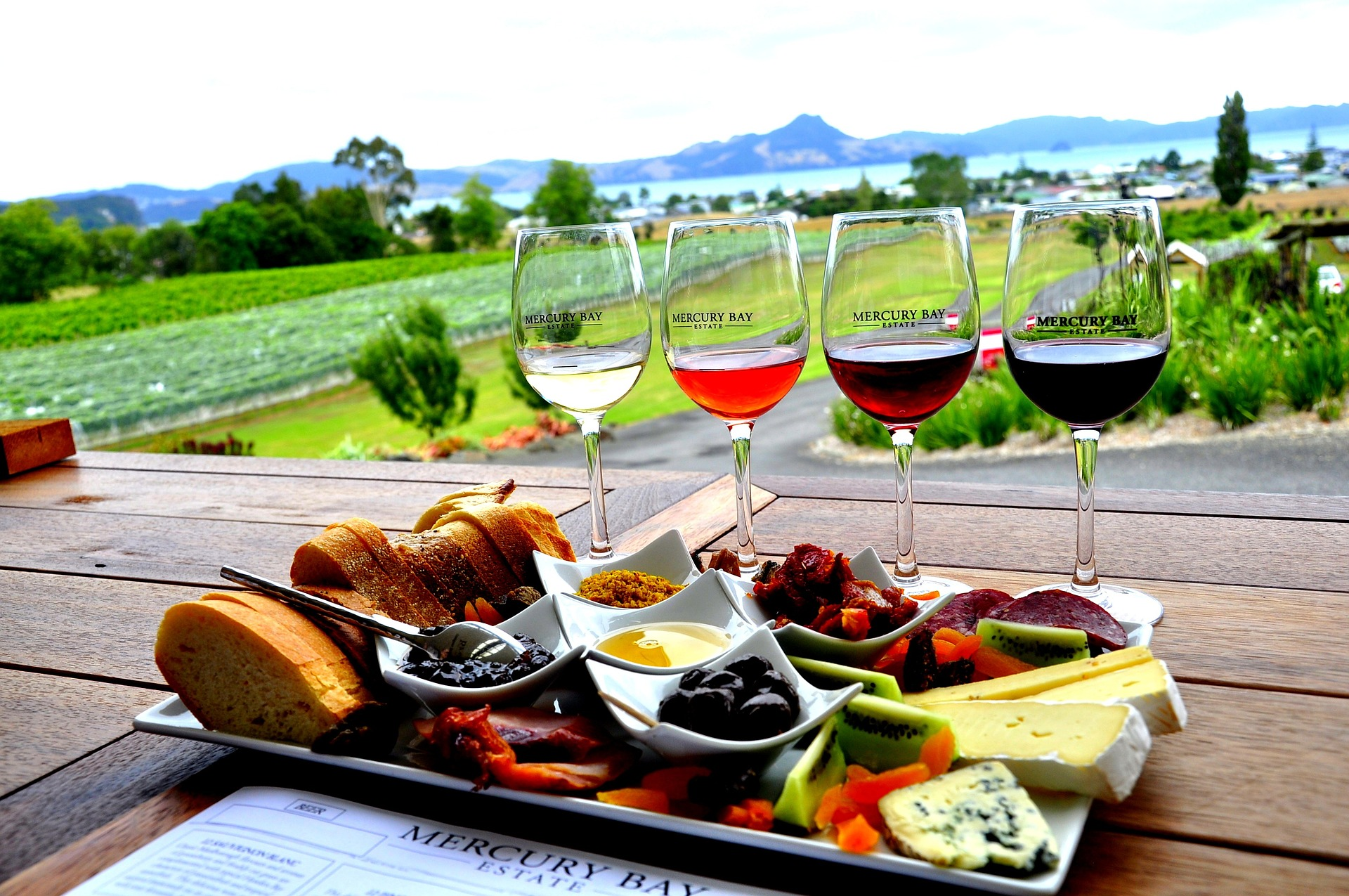 Food, Winery, New Zealand
