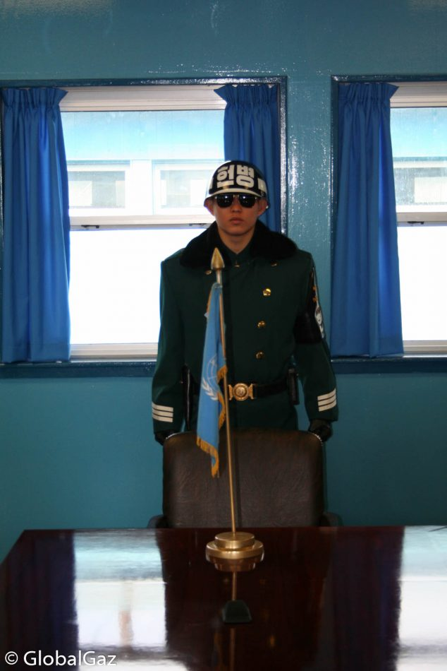 Meet a South Korean soldier