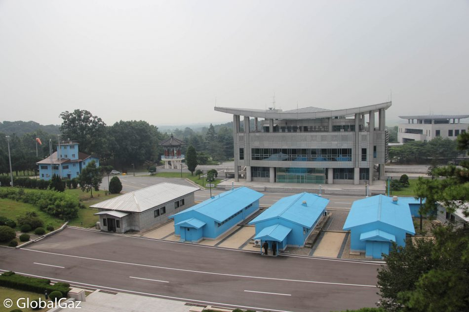 The view of the DMZ