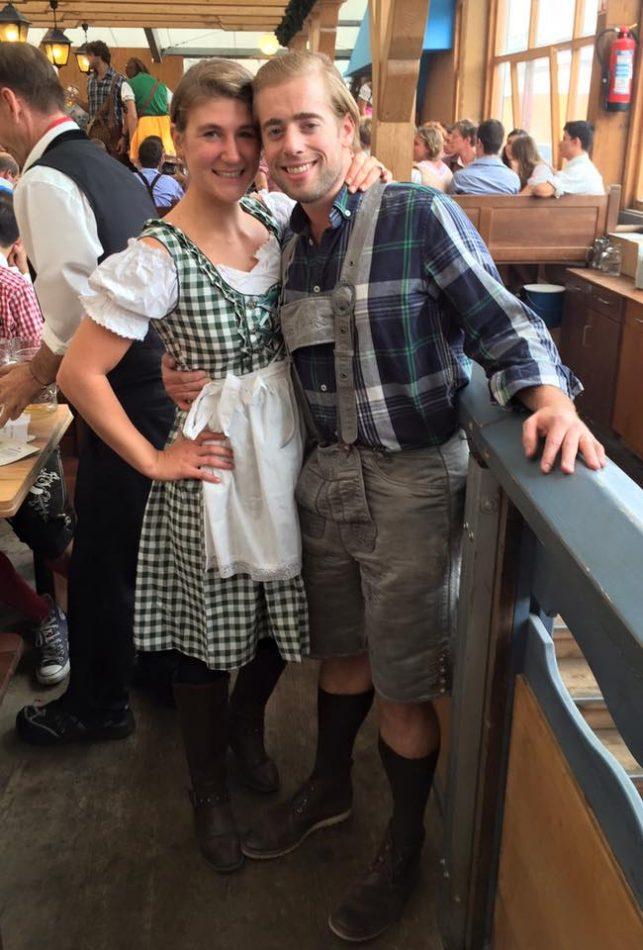 I wish I knew: Wear proper attire to Oktoberfest.