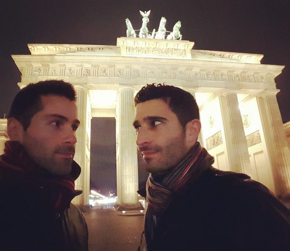 Romantic Berlin at the Brandenburg Gate