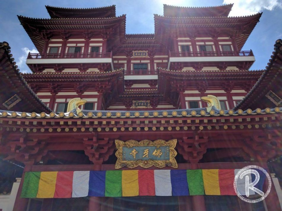 Buddha Tooth Relic Temple and Museum - Chinatown (Day 4)