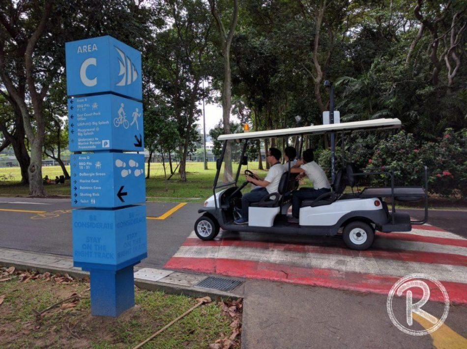 Area C with Small Cab - East Coast Park (Day 5)