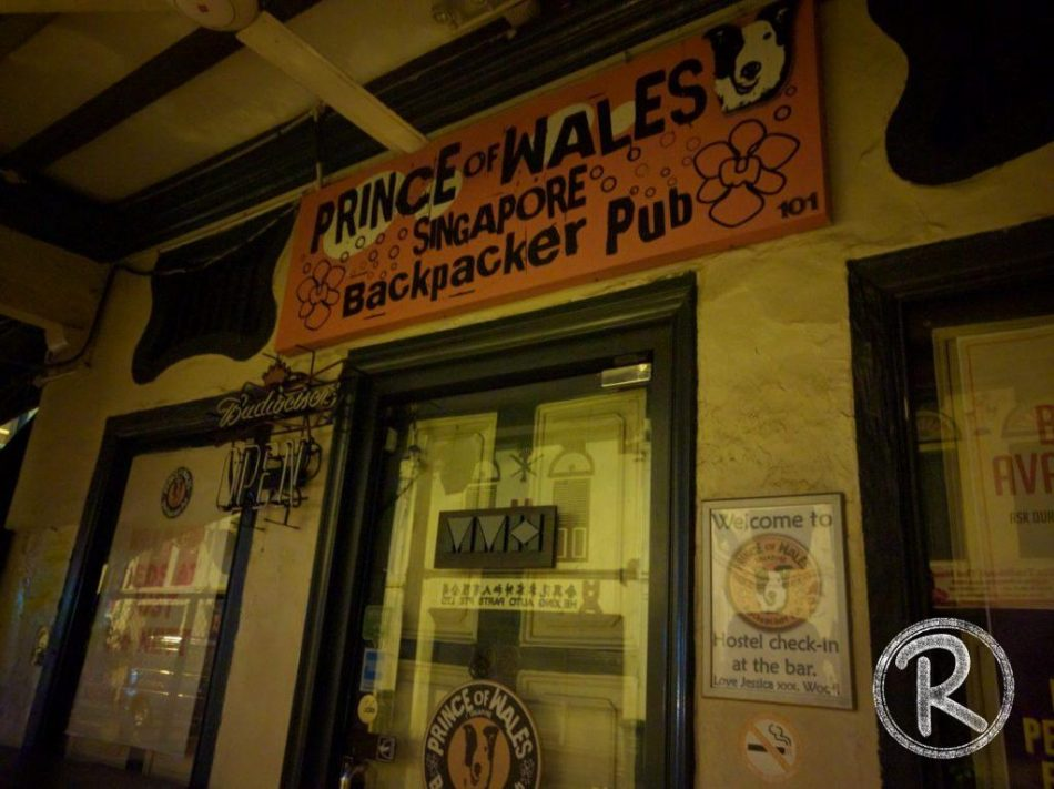 Prince of Wales – Accommodation in Singapore
