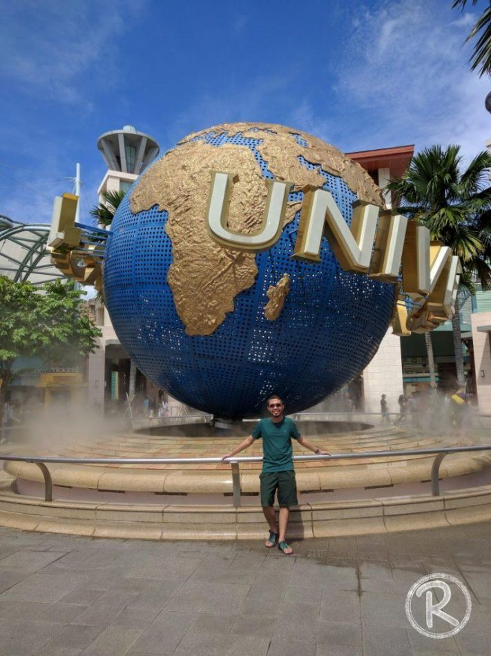 Mandatory Shot at Universal Studios Singapore - Sentosa (Day 2)
