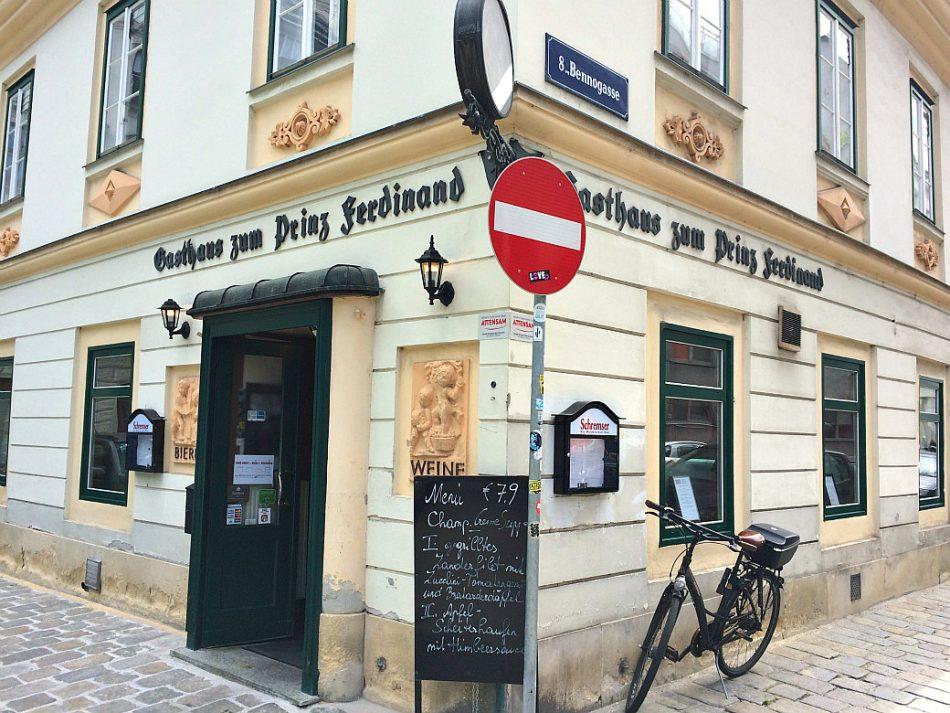 Vienna's Josefstadt and Neubau: Prinz Ferdinand restaurant